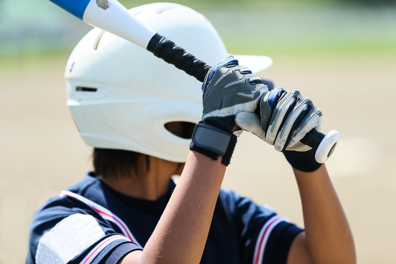 子供野球風景